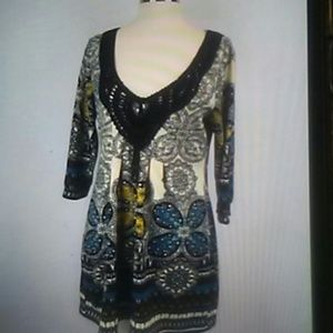 ARYEH BOHO MINI DRESS M